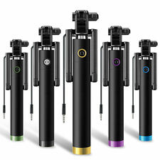Mini Monopod Selfie Stick WIRED+FOLDABLE Mobile Phone Holder For iPhone 7 Plus 7