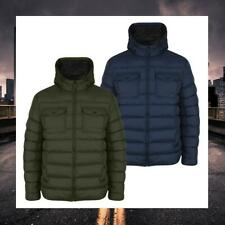 TOKYO LAUNDRY MENS QUILTED PADDED PUFFER HOODED JACKET WINTER COAT LOWE 1J8229