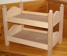 Handmade Bunk Bed for 18 inch Doll