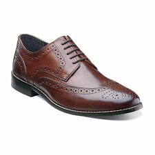 Nunn Bush Nelson Wingtip Men's Oxford Brogue Shoes. Brown | Export Surplus