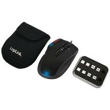 Logilink Q1 Revolution Laser Gaming Maus, 6000 dpi Mouse Notebook PC *NEU*