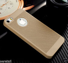 Luxury Breathable Mesh Matte Finish Hard Back Cover FOR APPLE iPHONE 5 / 5S / SE