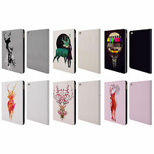 OFFICIAL ROBERT FARKAS DEER LEATHER BOOK WALLET CASE COVER FOR APPLE iPAD
