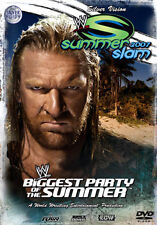 WWE - SummerSlam 2007 (DVD, 2008) Limited Edition Steelbook