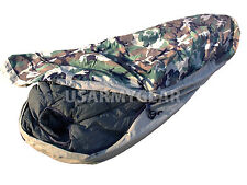 Extreme Cold Weather Military Army SUBZERO Sleeping Bag + Bivy Cover Waterproof