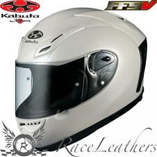 KABUTO OGK FF-5V PEARL WHITE MOTORCYCLE MOTORBIKE BIKE RACE RACING HELMET