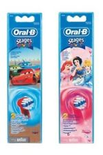 Braun Oral-B Disney Princess Disney Cars Kids Toothbrush Replacement Brush Head