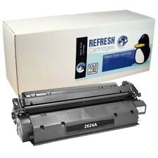 REMANUFACTURED HP Q2624A / 24A LASERJET BLACK MONO LASER PRINTER TONER CARTRIDGE