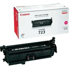GENUINE CANON 723 / CRG-723M / 2642B002AA MAGENTA LASER PRINTER TONER CARTRIDGE