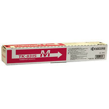 GENUINE KYOCERA MAGENTA LASER PRINTER TONER CARTRIDGE - TK-8315M / 1T02MVBNL0