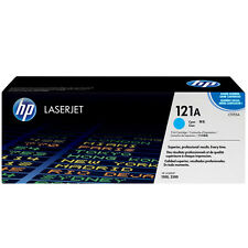 GENUINE HP HEWLETT PACKARD C9701A / 121A CYAN LASER PRINTER TONER CARTRIDGE