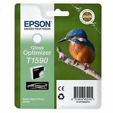 GENUINE EPSON KINGFISHER SERIES GLOSS OPTIMIZER INK CARTRIDGE T1590 C13T15904010