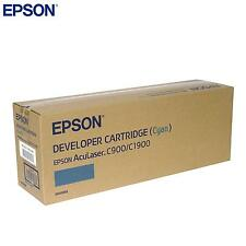 GENUINE CYAN EPSON ACCULASER S050099 TONER CARTRIDGE FOR C900 C1900 PRINTERS