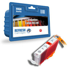 COMPATIBLE RED CANON PRINTER INK CARTRIDGE BCI-6R, BCI6R, 8891A002