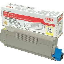 BRAND NEW GENUINE OKI 43324421 YELLOW ORIGINAL LASER TONER CARTRIDGE