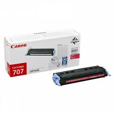 GENUINE CANON CRG-707M / 9422A004AA MAGENTA LASER PRINTER TONER CARTRIDGE