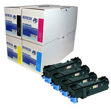 REMANUFACTURED LASER TONER CARTRIDGE SINGLE / MULTI PACK FOR XEROX 6125 PRINTERS