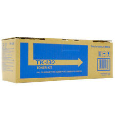 GENUINE KYOCERA BLACK LASER PRINTER TONER CARTRIDGE - TK-130 (TK130)
