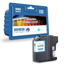 COMPATIBLE LC223C CYAN INK CARTRIDGE FOR BROTHER PRINTERS (LC-223C)