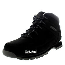 Mens Timberland Euro Sprint Hiker Black Hiker Walking Leather Ankle Boot UK 7-13