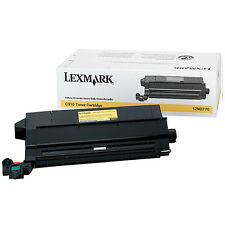 GENUINE LEXMARK 0012N0770 ORIGINAL YELLOW LASER TONER CARTRIDGE