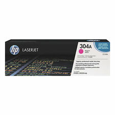 GENUINE HP HEWLETT PACKARD CC533A / 304A MAGENTA LASER PRINTER TONER CARTRIDGE