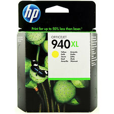 GENUINE HP OFFICEJET PRO HIGH CAPACITY YELLOW INK CARTRIDGE HP 940XL (C4909AE)