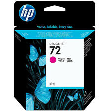 GENUINE HP DESIGNJET MAGENTA INK CARTRIDGE 69ML CAPACITY - HP 72 / C9399A