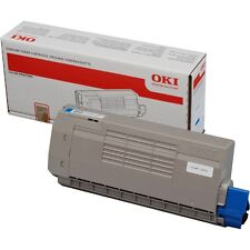 BRAND NEW GENUINE OKI 44318607 / 43866107 CYAN ORIGINAL LASER TONER CARTRIDGE