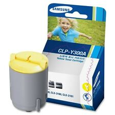 GENUINE SAMSUNG CLP-Y300A ORIGINAL YELLOW LASER PRINTER TONER CARTRIDGE