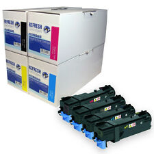 REMANUFACTURED LASER TONER CARTRIDGE SINGLE / RAINBOW PACK FOR XEROX 6140 SERIES