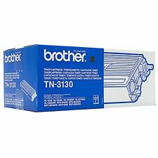 GENUINE BROTHER TN-3130 BLACK LASER PRINTER TONER CARTRIDGE - FOR HL / DCP / MFC