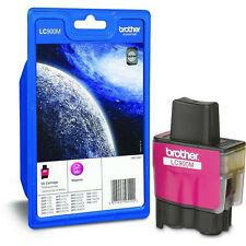 GENUINE OEM BROTHER LC900M MAGENTA (PINK) PRINTER INK CARTRIDGE (LC900, LC-900)