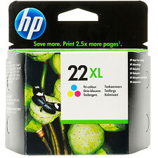 ORIGINAL HP HEWLETT PACKARD HIGH CAPACITY COLOUR INK CARTRIDGE HP22XL (C9352CE)