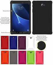 AMZER Silicone Soft Skin Jelly Case Cover Galaxy Tab A 10.1 2016 SM T580 T585