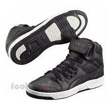 Scarpe Puma Rebound Street L 359252 02 high Basket Uomo Pelle Black Fashion Moda