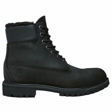 Timberland Heritage 6 Inch  Black Mens Boots