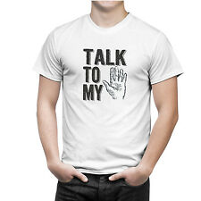 iberrys Unisex 5(TALK TO MY HAND) Sports Wear DriFIT Round Neck Printed T-Shirt