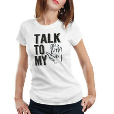 iberrys Unisex 5(TALK TO MY HAND) Sports Wear Dri-FIT Round Neck Printed T-Shirt