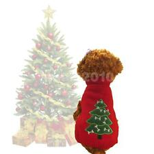 Christmas Tree Pet Dog Puppy Sweater Warm Knitwear Jacket Pullover Jumper XS--L