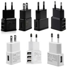 Pro 1A/2A AC USB Power Charger Plug Adapter For Samsung iPhone EU/US Travel