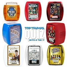 BRAND NEW TOP TRUMPS QUIZ GAME // 500 QUESTIONS // FAMILY GAME // AGE 8+