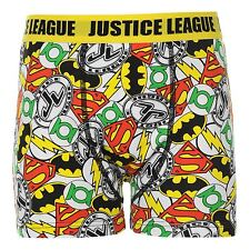 DC Comics Justice League Boxer Shorts Underwear Junior Boys Yellow Pants Undies