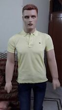 Lacosté Solid Men's Polo Slim Fit T-shirt @ Lowest Price (Lemon)