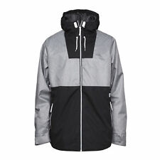 CLWR Colour Wear Block Ski Snow Jacket 11011163 Grey Melange