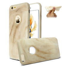 Marble Pattern shock Bumper Phone Slim smooth Case Cover For Apple iPhones FG