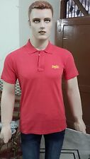Team Superdry Solid Men's Polo T-shirt @ Lowest Price (Barberry Red)