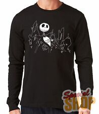 "T-SHIRT MANCHE LONG""JACK SKELLINGTON-TIM BURTON""LONG SLEEVE"