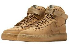 Nike Air Force 1 High LV8 Flax Brown Outdoor Green Womens Trainers 654440 200