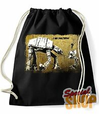 BORSA ZAINO STAR WARS I AM YOUR PADRE FUNNY BAG BACKPACK